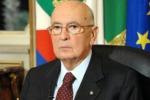 Consultazioni lampo da Napolitano