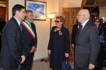 150 Italia: Napolitano arrivato a Trapani