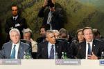 """Vertice Nato, Obama: """"E' ora di agire contro l'Isis"""""""