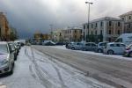Freddo e neve a Messina, ma per fortuna nessun ferito