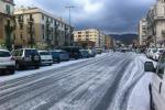 Neve anche a bassa quota in Sicilia: disagi per gli automobilisti