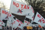 Palermo, tensione al corteo No Tav
