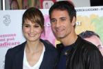 """Scusate se esisto!"", Paola Cortellesi e Raoul Bova insieme sul set"