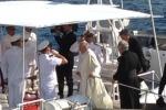 Lampedusa accoglie Papa Francesco