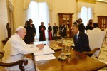 Obama incontra papa Francesco