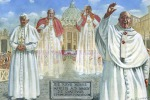 Attesi 700mila fedeli a Roma per il giorno dei due Papi