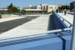 Servizi igienici e ingressi danneggiati Sopralluogo al parcheggio Catusi di Sciacca