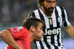 Rossazzurri travolti dalla Juventus: 4-0