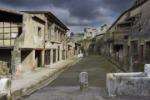 Altro crollo a Pompei, viene giù il muro di una bottega chiusa