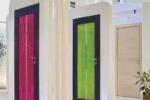 Arredare con le porte d'interni: colori e rifiniture protagonisti