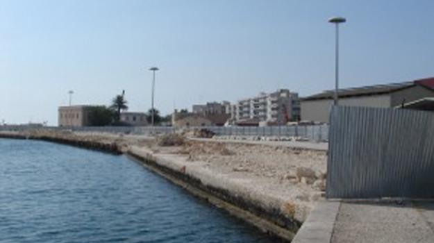 lavori al porto, porto di marsala, Trapani, Cronaca