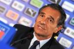 """L'Italia ai Mondiali, Prandelli: """"Da qui parte la nostra avventura"""""""