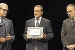 Il premio Francese a un giornale di Siracusa