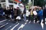 Sciopero tir, tensione davanti ai distributori
