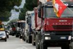 """Aias e Forza d'urto: """"Revocato lo sciopero dei tir"""" I Forconi: noi non ci fermeremo"""