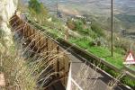 Enna, pericolo frana: chiusa la strada provinciale San Calogero