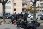 I volontari di «Puliamo Ragusa» a Cupoletti