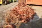 Vittoria: sequestrate 5 tonnellate e mezzo di cavi di rame
