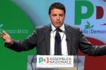 """All'assemblea Pd, Renzi: """"Cambiamo l'Italia"""""""