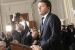 """Governo, l'incarico a Renzi: """"Partiremo dall'emergenza lavoro"""""""