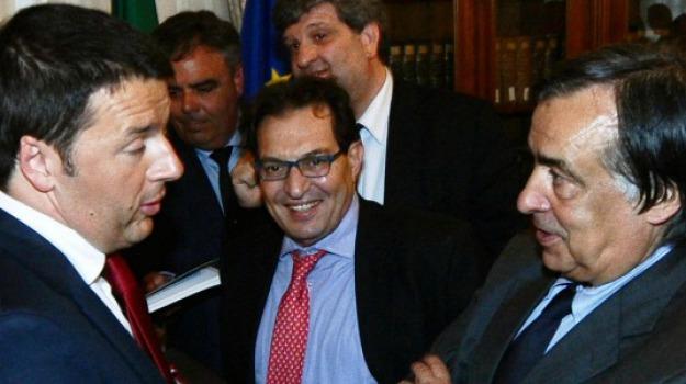 Enzo Bianco, Leoluca Orlando, Matteo Renzi, Rosario Crocetta, Sicilia, Politica