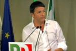 """Renzi applausi alla direzione del Pd: """"L'Europa o cambia o non si salva"""""""
