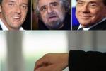 Europee, exit poll: Pd al 34,5%, M5s al 25,5%, Forza Italia al 17%