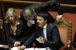 Renzi, sì alla fiducia al Senato: scelte radicali, servono sogni e coraggio