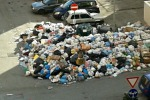L'immondizia resta per strada a Enna, si rischia nuova emergenza