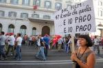 Sciopero Cgil, momenti di tensione a Palermo