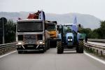 Sciopero tir, tre manifestanti arrestati nel Ragusano