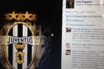 Pulvirenti: scudetto della Juve sul profilo Fb di Maggiani