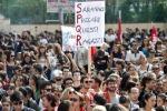 Palermo, studenti in piazza