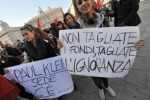 Tagli alla scuola, manifestazione a Palermo