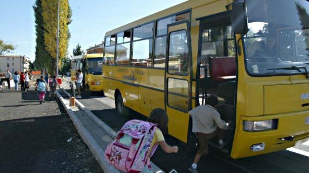 scuolabus san giacomo, Ragusa, Cronaca
