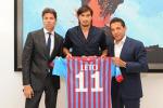Il Catania presenta Sebastian Leto «Possiamo competere per l'Europa»