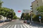 Palermo, il semaforo mancante
