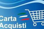 """Caltanissetta, arriva la """"social card"""" Per gli indigenti aiuto per fare la spesa"""