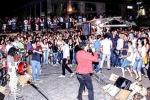 Puzza in piazza Mercato Grazia Il questore sospende gli spettacoli
