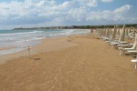 Scicli, schiuma bianca sul mare di Donnalucata