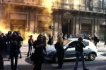 Crisi, corteo di studenti a Palermo