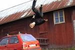 Stuntman per lavoro pure in Sicilia «Così alleniamo il fisico e la mente»