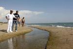 Gela, acqua torbida nel torrente Gattano
