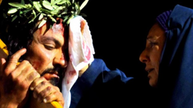 Settimana santa, via crucis, villaseta, Agrigento, Cultura