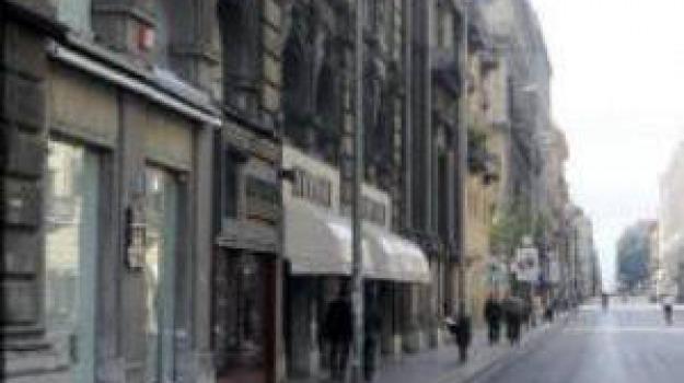 furto in via Ruggero Settimo a Palermo, furto negozio d'abbigliamento a palermo, Palermo, Cronaca