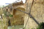 Crolla ponte sulla statale 115: nessun ferito