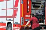 Palma, fiamme all'auto di Domizio Mineo «La nostra azione non si fermerà»