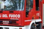 Palermo, incendio in un palazzo in via Dante: due intossicati