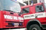 Fiamme e paura in via Montebello